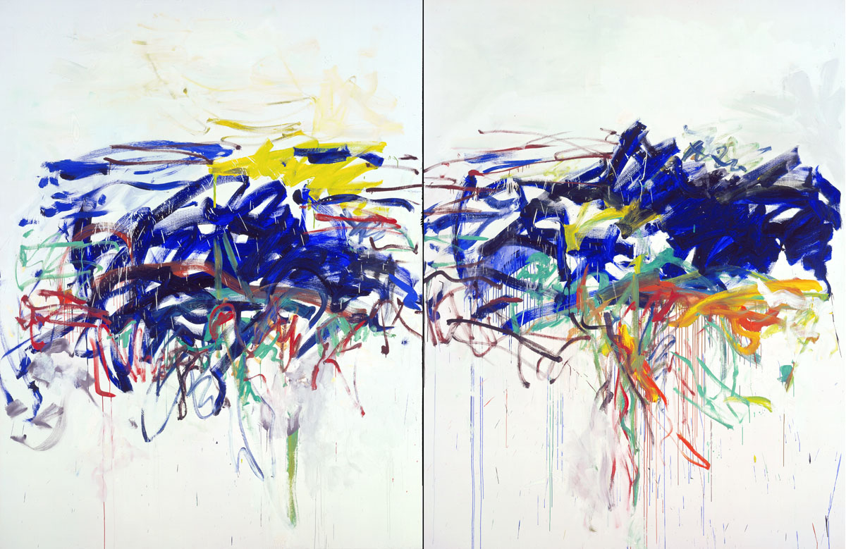 Joan mitchell ruthie v for The art of painting