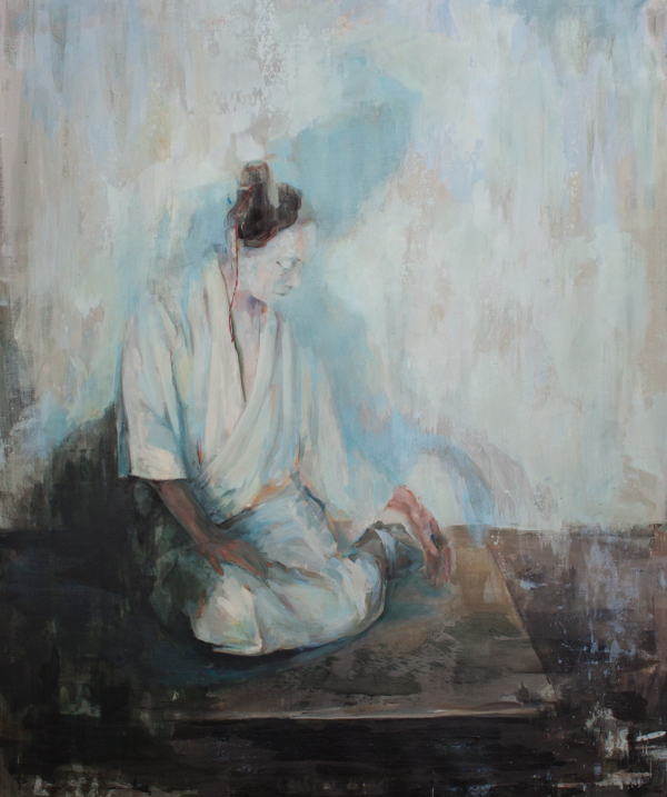 "Emptiness, 68x60"" Oil on linen"